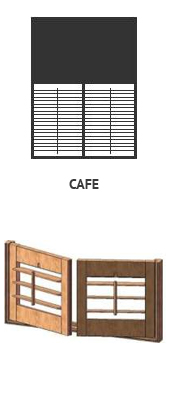 Shutters okiennice cafe