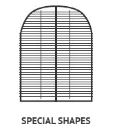 Shutters okiennice Special Shapes